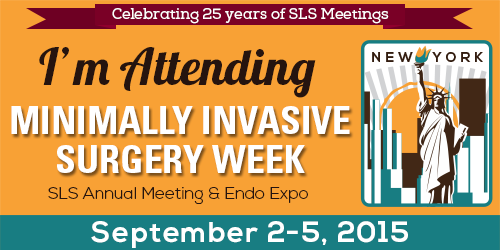 minimally invasive surgery week September 2015