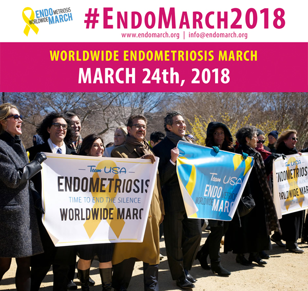 Worldwide Endometriosis March 2018