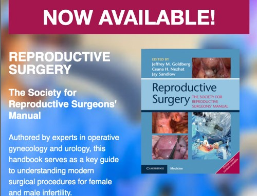 Reproductive Surgery Manual Now Available