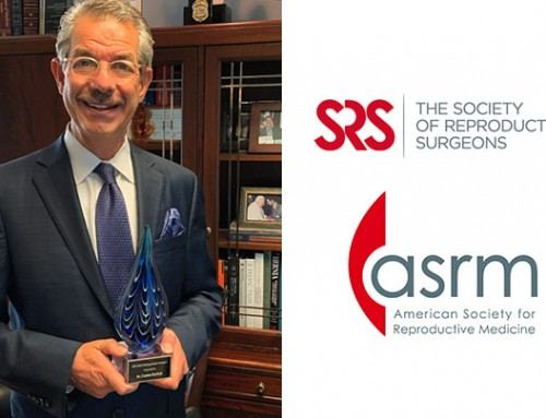 Dr. Ceana Nezhat receives the 2020 Society of Reproductive Surgeons Distinguished Surgeon Award